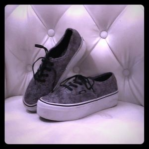 Vans Grey Snake tennis shoes